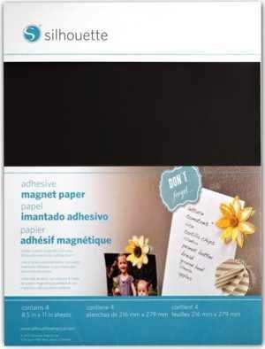 MEDIA-MAGNET-ADH - ADHESIVE MAGNET PAPER Fogli magnetici adesivi A4
