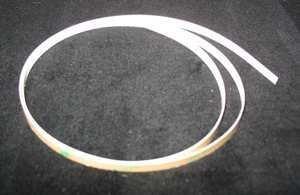 Gcc Cutting Strip - striscia battilama adesiva in teflon bianco per tutti i plotter GCC larghezza 60 e 61