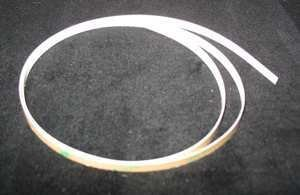 Gcc Cutting Strip - striscia battilama adesiva in teflon bianco per tutti i plotter GCC larghezza 132