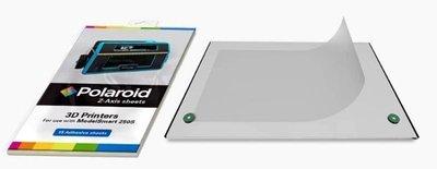 POLAROID Z-Axis SHEETS - fogli speciali biadesivi da applicare al piano di stampa ModelSmart 250S