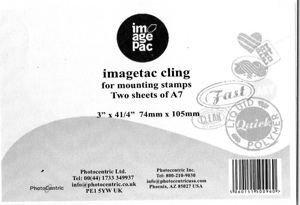 A7 Cling - fogli aggrappanti per timbri - confezione 2 fogli dim. 74 x 105mm