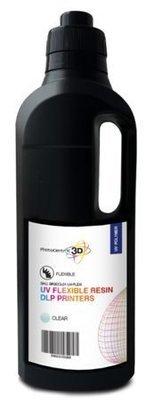 1kg resina DLP UV Flexi - specifica per stampanti 3D a tecnologia DLP videoproiettore