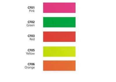 serie NEON larghezza 61,0 cm -  Vinile adesivo da taglio - colori neon fluorescenti