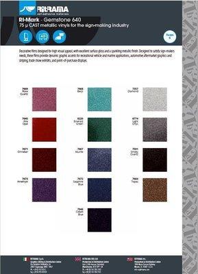 serie Glitter larghezza 30.5 cm -  Vinile adesivo da taglio - colori glitter