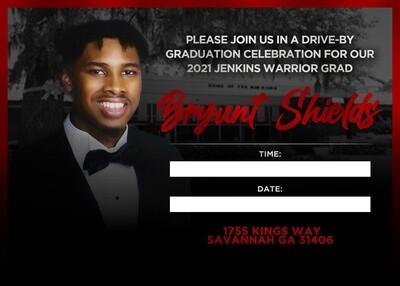 Graduation Invitations / Postcards