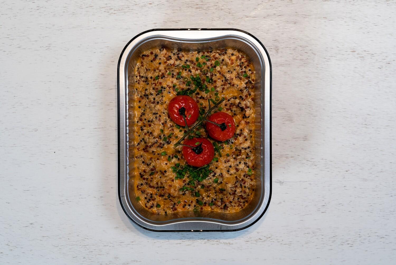 Quinotto (risotto au quinoa) Vegan
