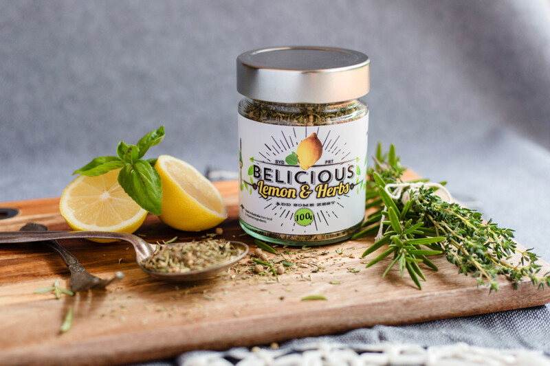 Lemon and Herb Zesty Seasoning
