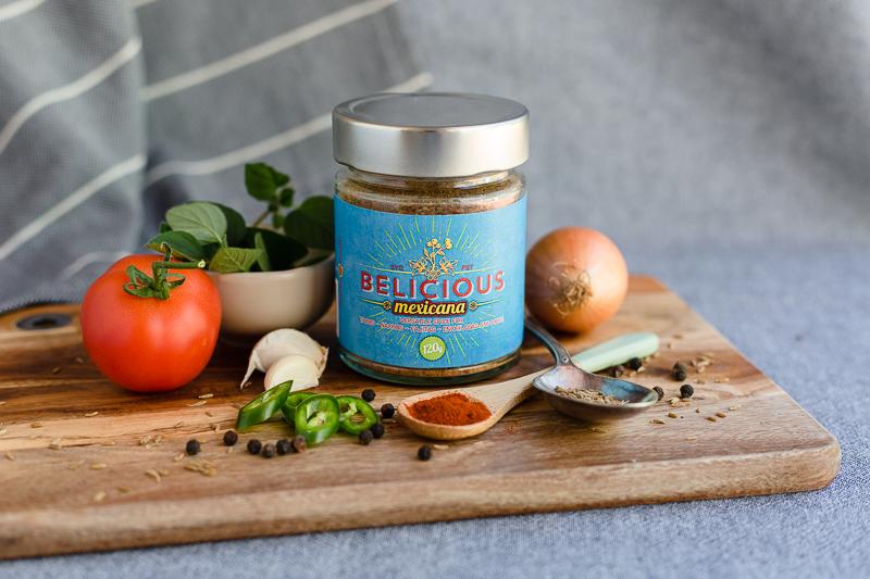 Belicious Mexicana Versatile Spice