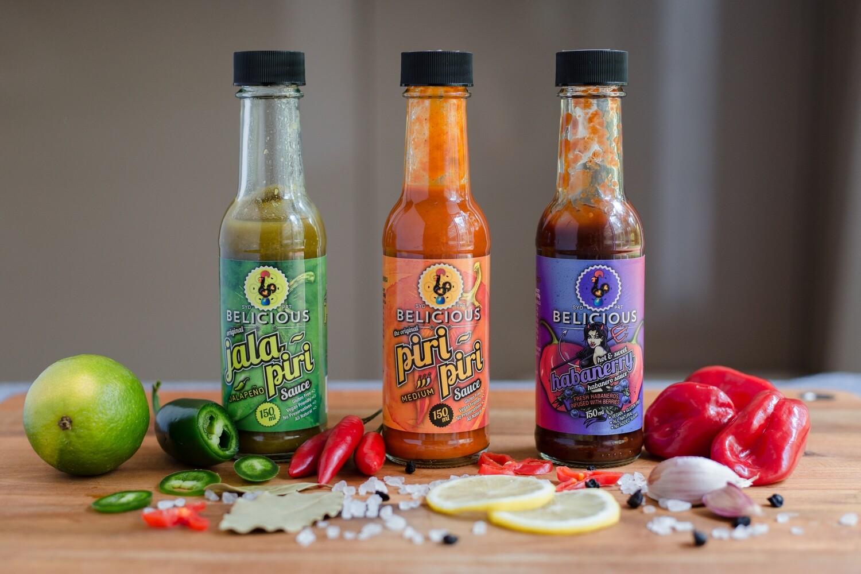The 3 Hotties - Hot Sauce BUNDLE - Save 5$