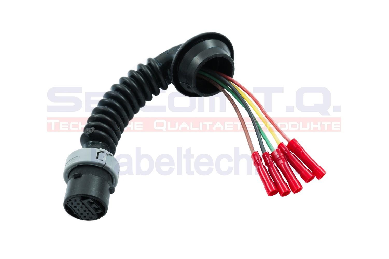 SenCom Kabelbaum Reparatursatz OPEL Corsa D Modell Tür hinten links oder rechts