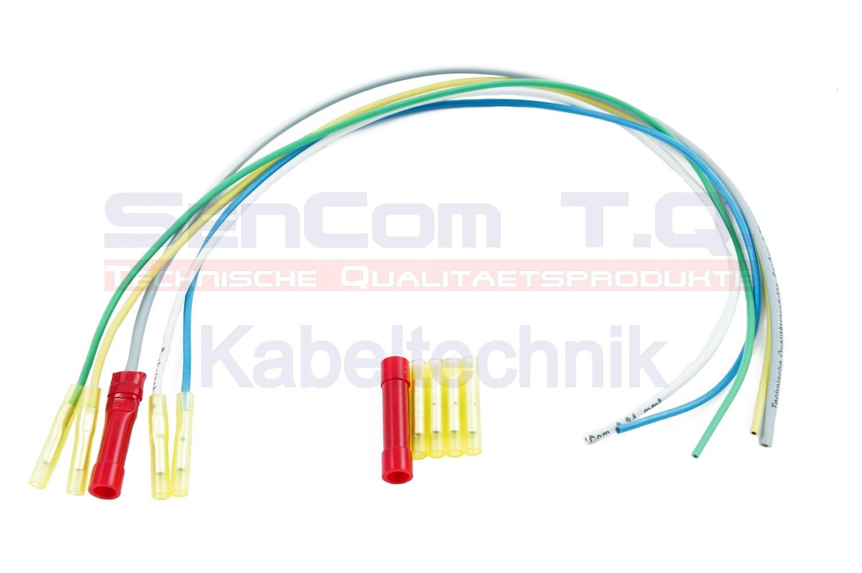 SenCom Kabelbaum Reparatursatz Peugeot 106 Heckklappe