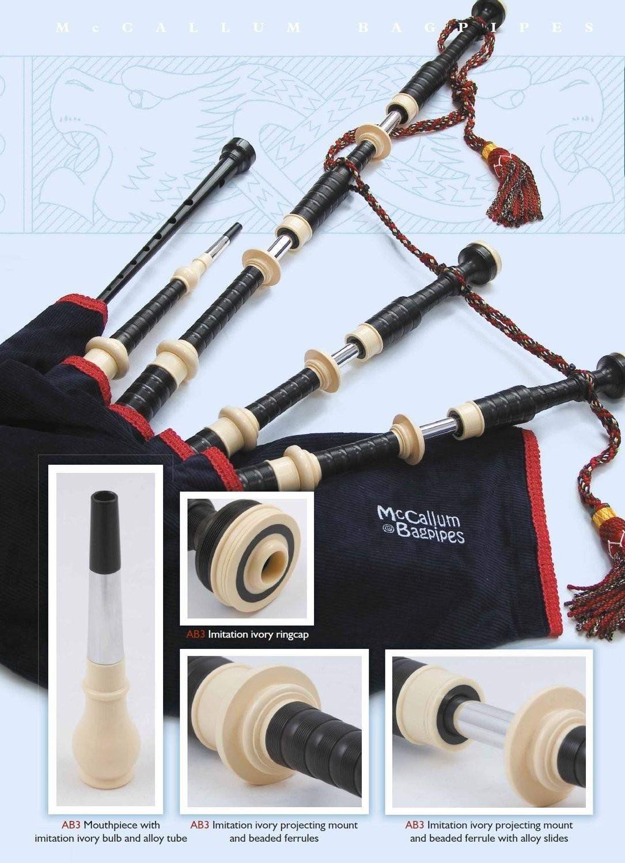 McCallum Bagpipes AB3