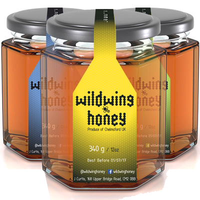 Honey 340g Large Jar