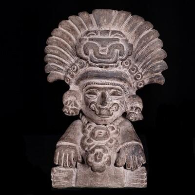 Zapotec Pottery Urn