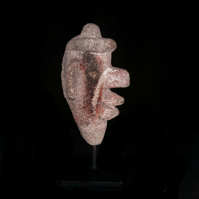 Pre-Columbian Aztec Stone Ehecatl