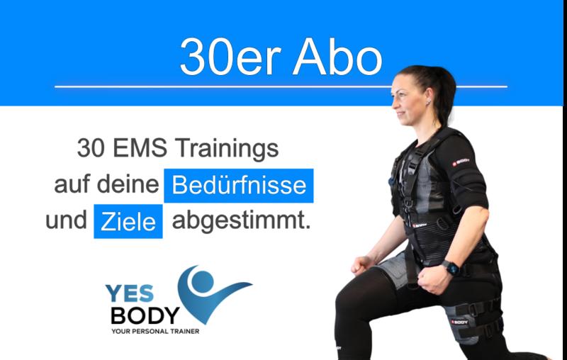 EMS Training Zug - 30er Abo