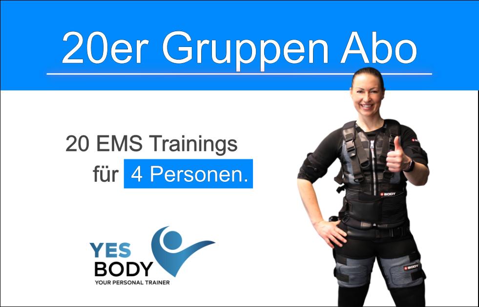 EMS Gruppen Training 20er Abo
