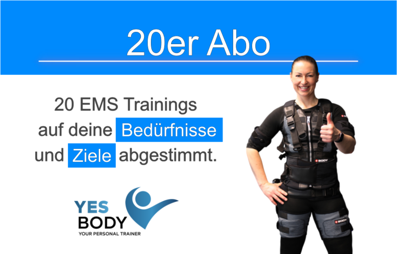 EMS Training Zug - 20er Abo