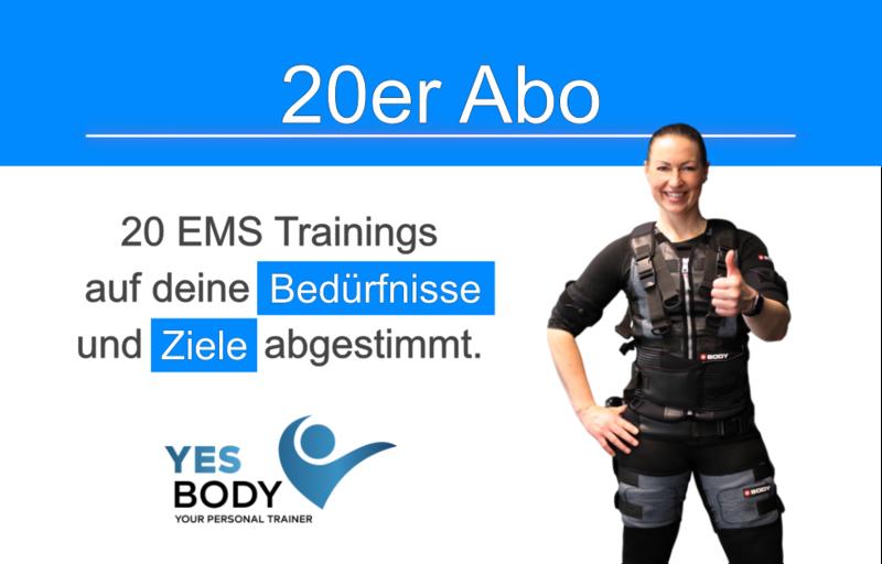 EMS Training Zug - 20er Abo