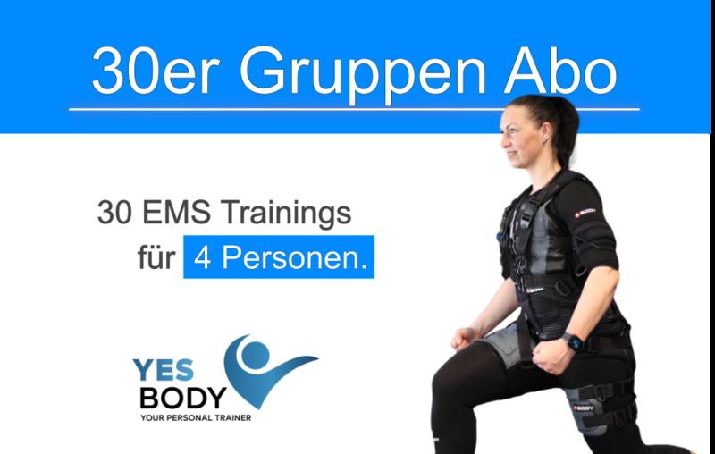 EMS Gruppen Training 30er Abo