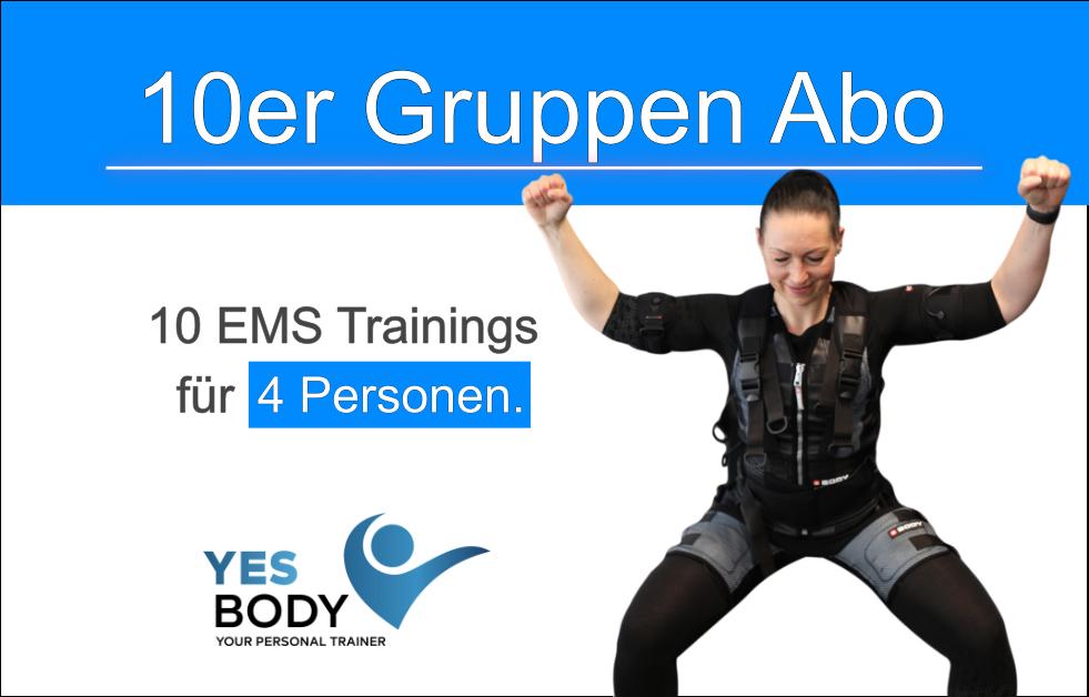 EMS Gruppen Training 10er Abo