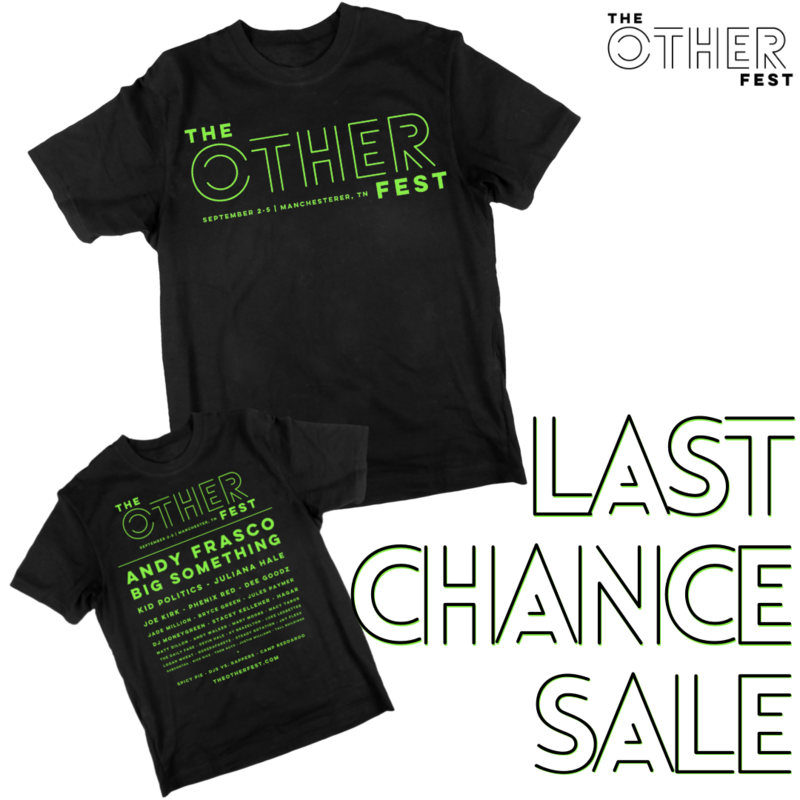 The Other Fest Official 2021 T-Shirt