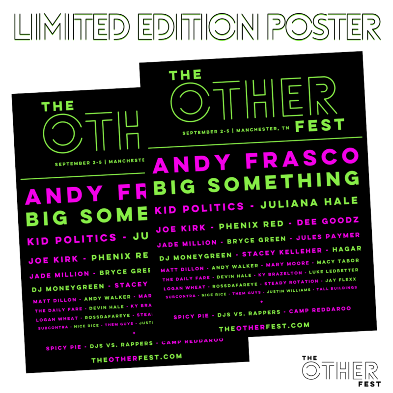 The Other Fest 2021 Official Poster