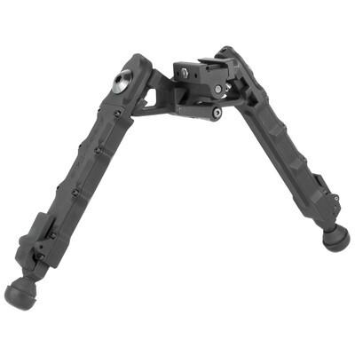 Accu-Tac, HD-50, 50BMG Heavy Duty Rifle Bipod, Black Finish