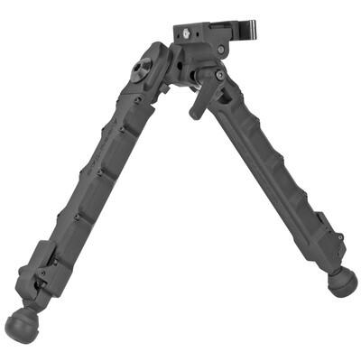 Accu-Tac, LR-10 G2, Quick Detach, Large Rifle Bipod, Black Finish