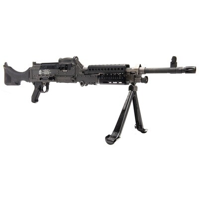"""Ohio Ordnance Works, Inc, M240-SLR, 7.62NATO, 20"""" Barrel, Black Phosphate, 2,500 M13 Belt Links, Front Sight Combo Adjusting Tool, Cleaning Kit, Disassembly Tool, Custom Fitted Hard Case, Parts Pouch."""