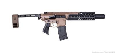 "Sig Sauer MCX Pistol .300 Blackout 30rd Magazine 5.5"" Canebrake Rattler"