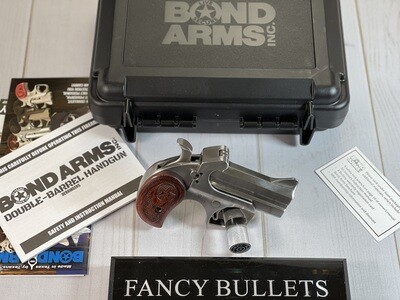 "Bond Arms BATD Texas Defender 45 Colt (LC)/410 Gauge 3"" 2 Round Stainless"