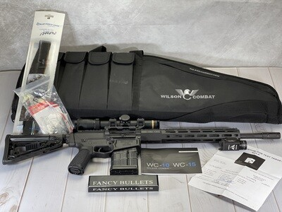 """Factory New, Wilson Combat Recon Tactical 308 with PH Optic Kits, 16"""" Blk"""