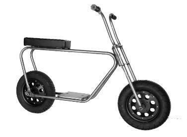 """El Lobo Minibike 6"""" Roller Kit"""