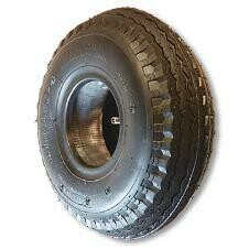 """410x350x5"""" SAW TOOTH TIRE"""