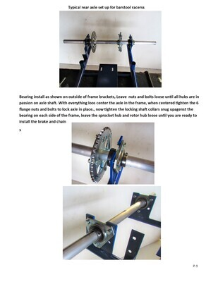 HOW TO REAR AXLE GT RACER