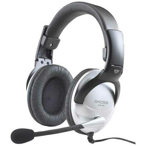 KOSS(R) 184747 SB45 Full-Size Over-Ear Communication Headphones