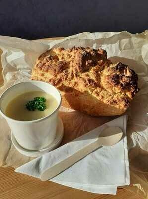 Seasonal Soup & Homemade Bread