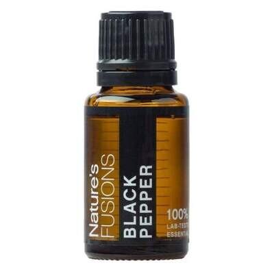 Black Pepper Pure Essential Oil - 15ml
