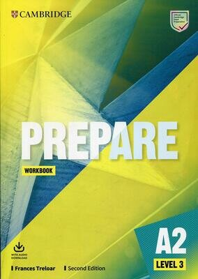 Cambridge English PREPARE 2nd Edition 2019 Level 3 (A2) Workbook with Audio