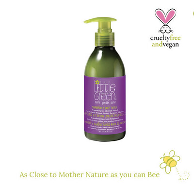 Little Green Shampoo & Body Wash Refreshing hair and body wash gently cleans and nourishes all in one.