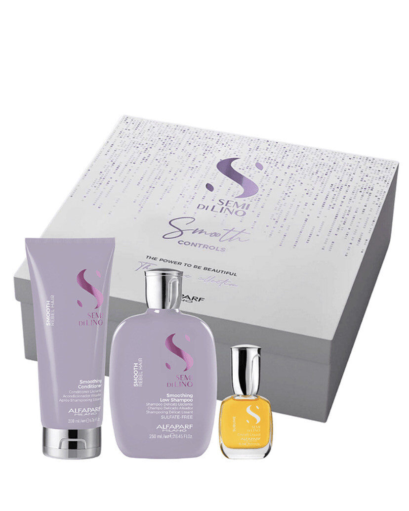 Alfaparf Semi Di Lino Smooth - Iconic Gift Set