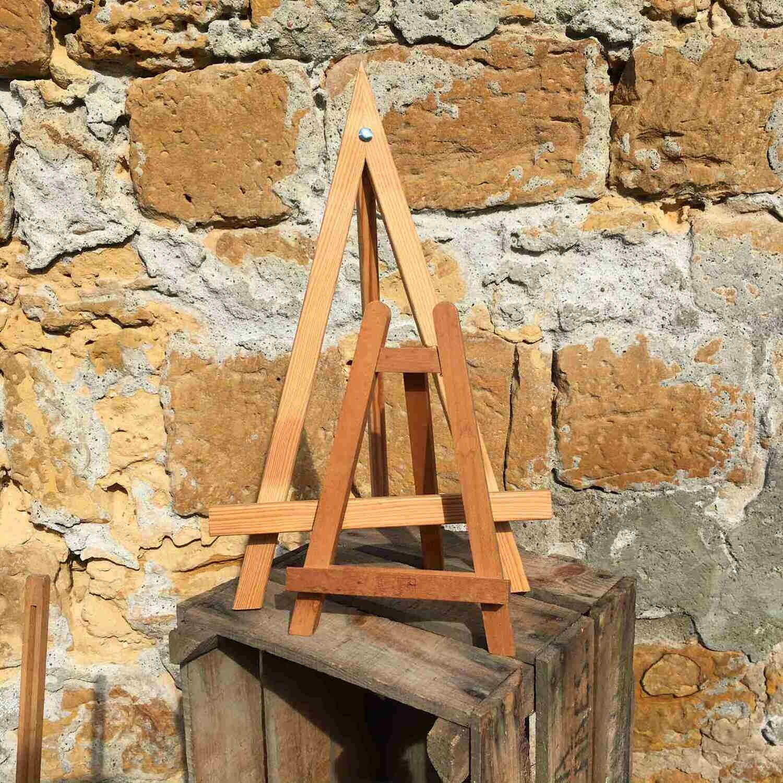 Chevalet en bois de table moyen