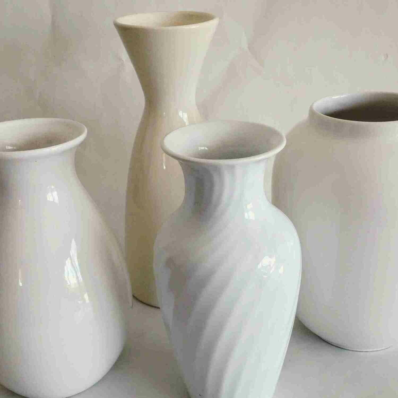 Vase céramique blanc