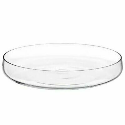 Photophore verre plat