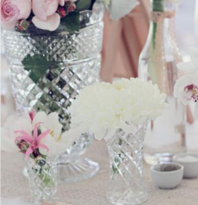 Vase verre ciselé grand