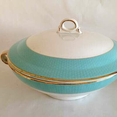 Soupière porcelaine bleue