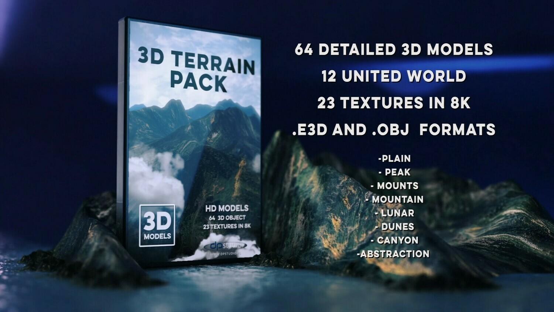 3D Terrain Pack