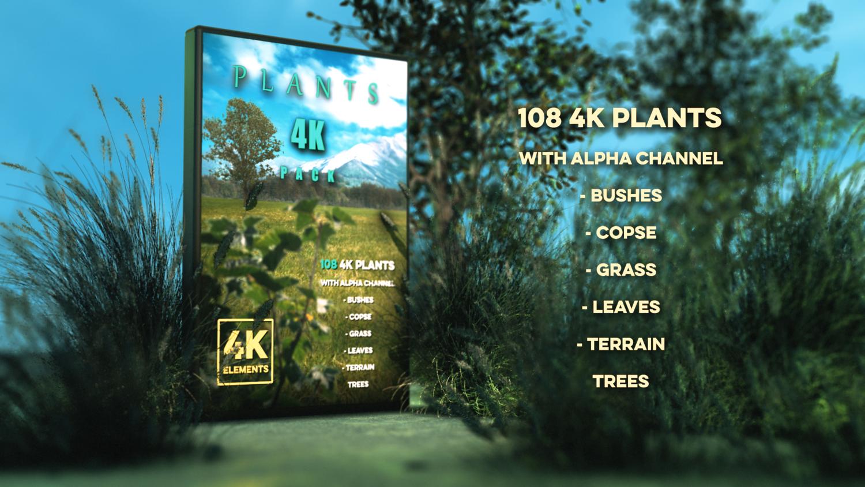Real Plaints Pack 4K