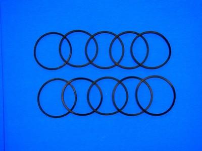 10 Square Cut Nitrile O-rings